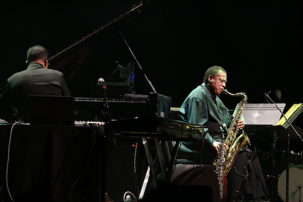 Herbie Hancock and Wayne Shorter perform at NJPAC